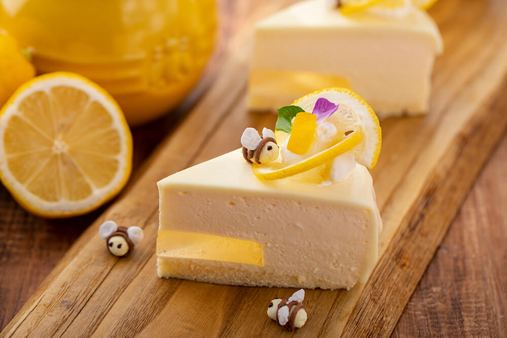 Honey Lemone Cheese Cake